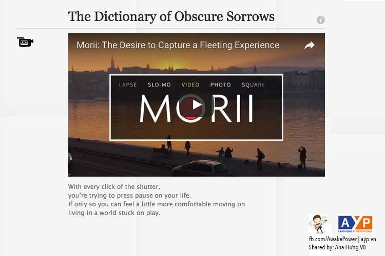 dictionaryofobscuresorrows